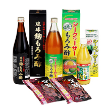 沖縄特産セットA(もろみ酢等 4種)