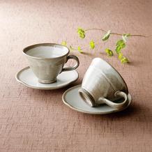 ペアコーヒーセット (カップ・ソーサー)