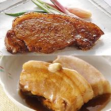 国産豚角煮×4袋、国産豚みそ漬け×12袋