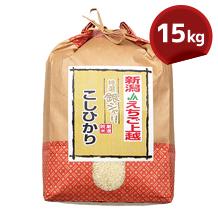 こしひかり(JAえちご上越) 15kg