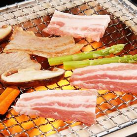 夢の大地豚 焼き肉 ロース500g
